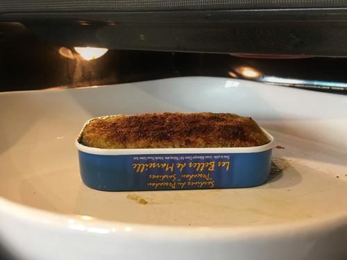 Sardines au four pour un repas express