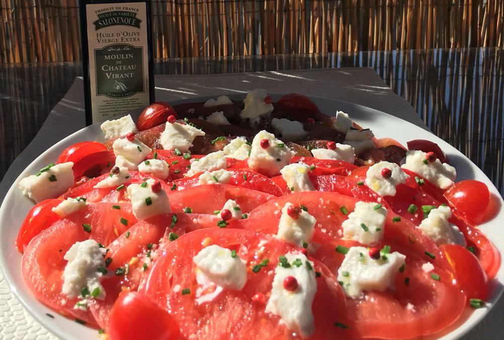 Trio de tomates à la Salonenque